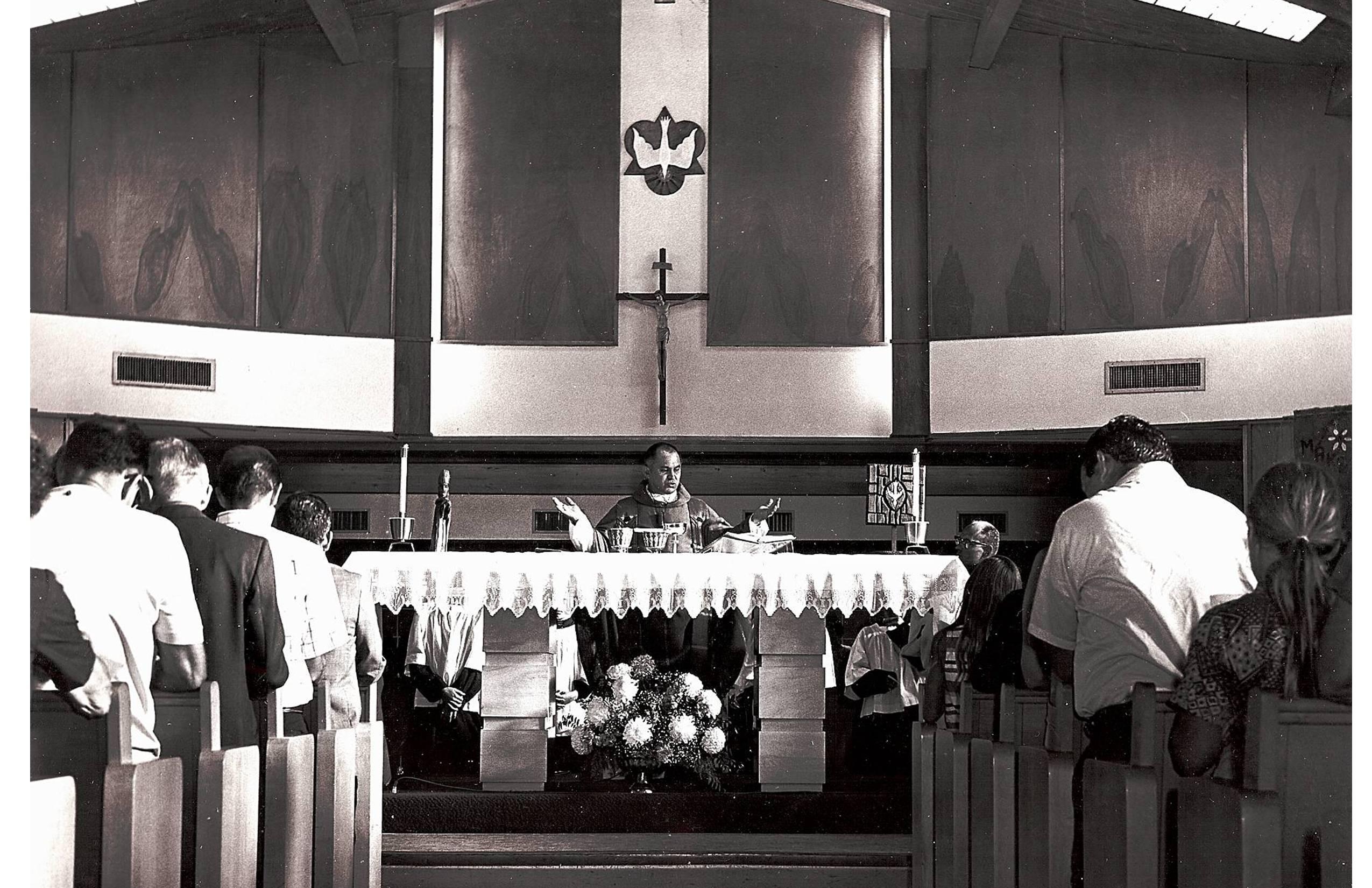 1964 First Bldg. Altar