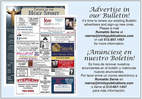 495AdvertiseInOurBulletinBiligual